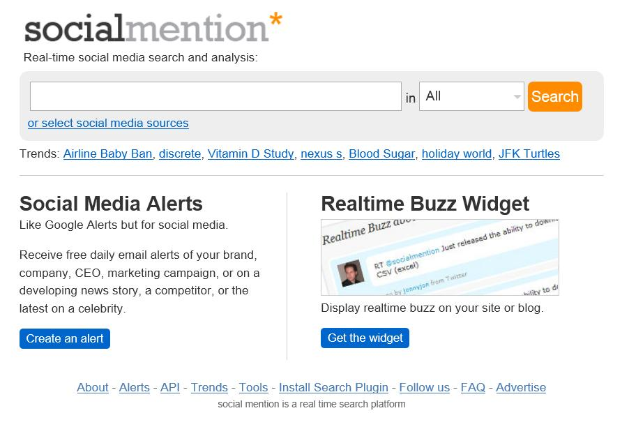 Dallas social media speaker J.R. Atkins recommends SocialMention