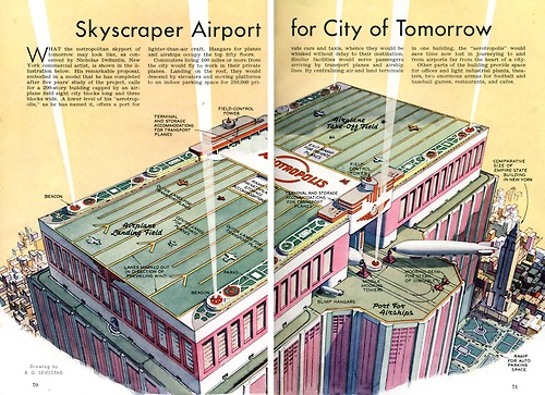 Dallas Mobile App Consultant J.R. Atkins comments on Sky Scraper Airship port