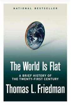 Author, Speaker, Consultant J.R. Atkins references the World is Flat