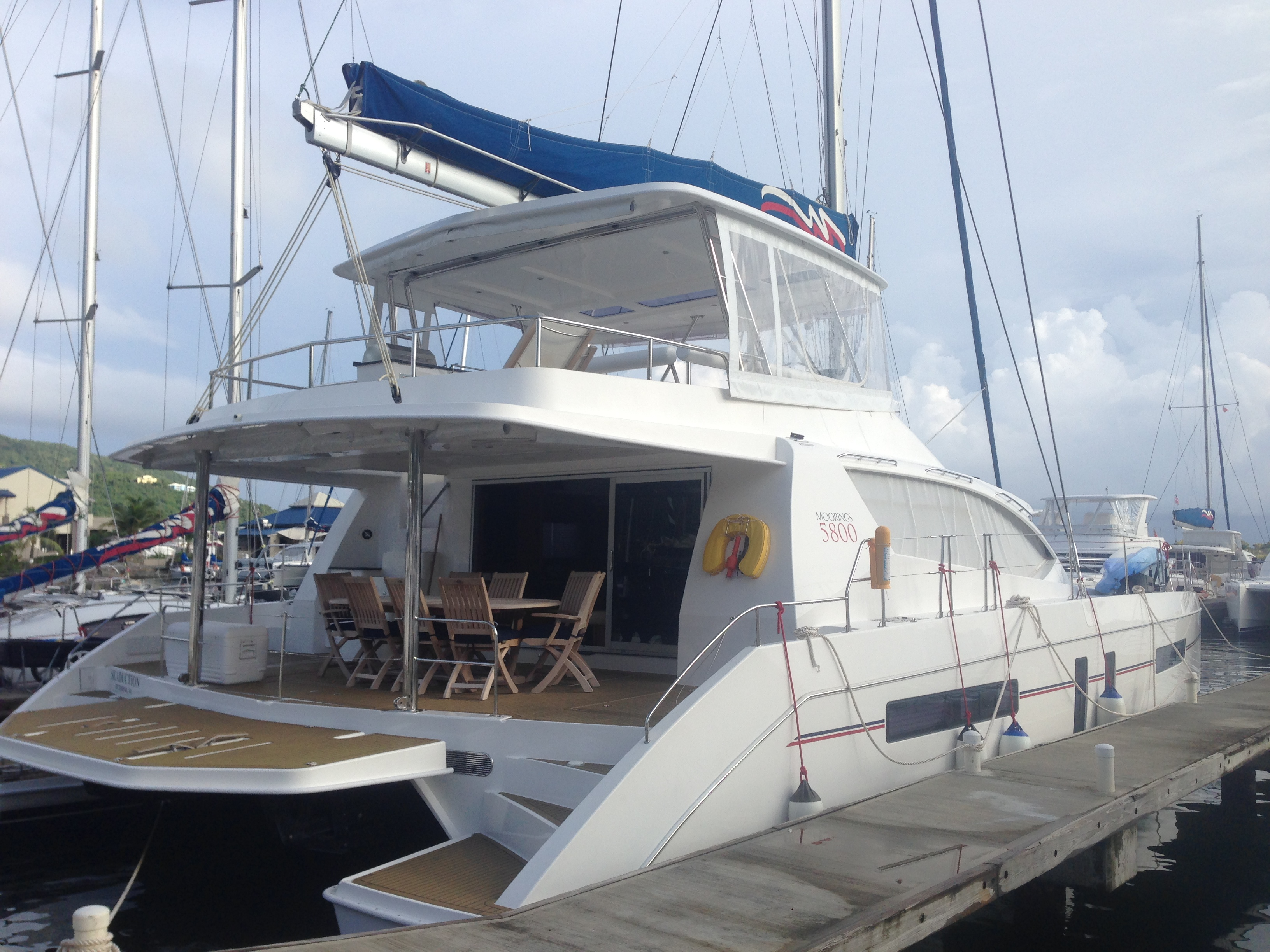 Sail to Biz Growth on a Moorings 5800