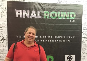J.R. Atkins attends Final Round 18