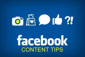 J.R. Atkins provides content tips for Facebook post